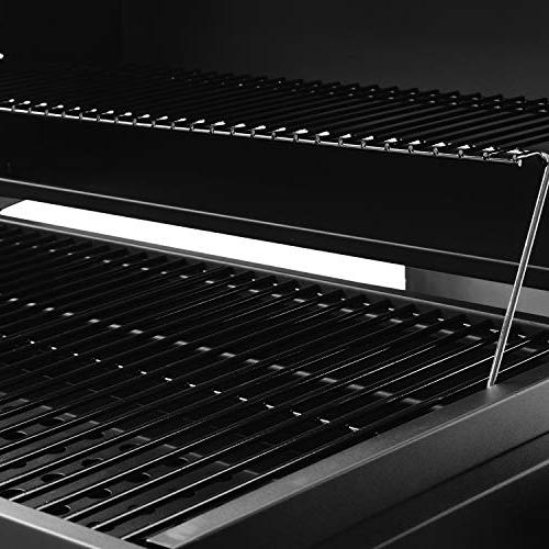 """Royal Gourmet Grill Large 30"""", Barbeque, Cooking, Black"""