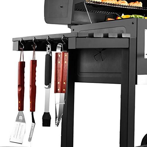 Royal Charcoal Grill Large Barbeque, Backyard Cooking,