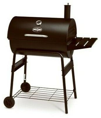 cg2001302 kf charcoal barrel grill with side