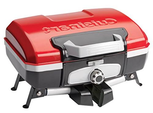 Cuisinart CGG-180T Portable Gas Grill, Red