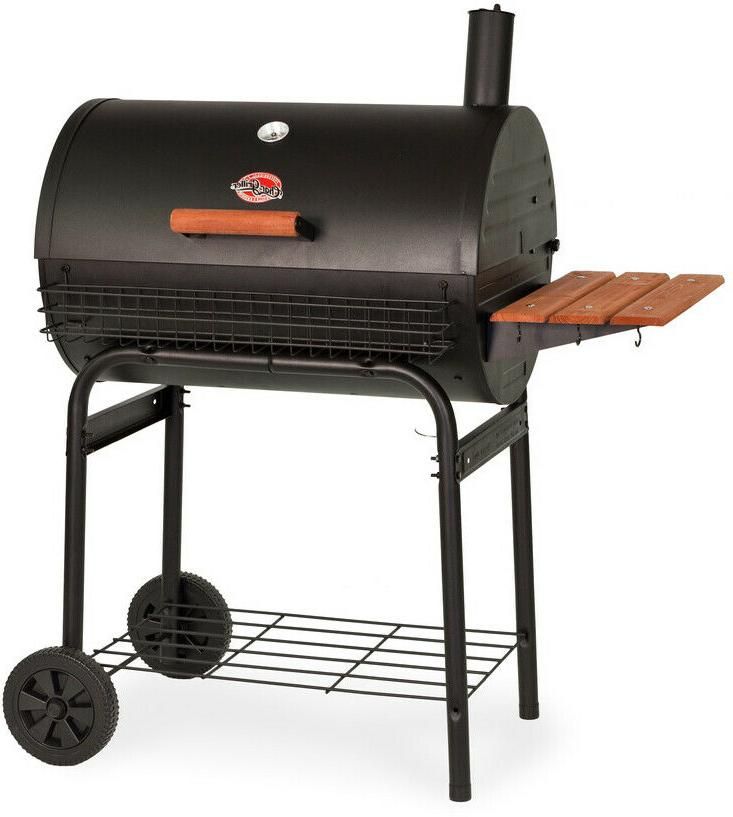 char griller 29 in barrel charcoal grill