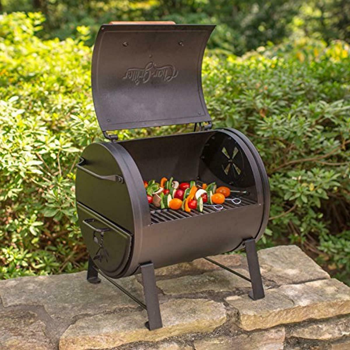 Char-Griller Charcoal and Side Fire