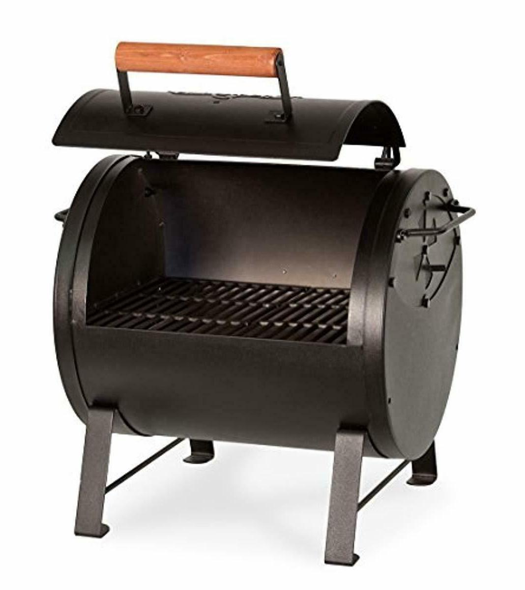 Char-Griller Top Charcoal Grill Fire