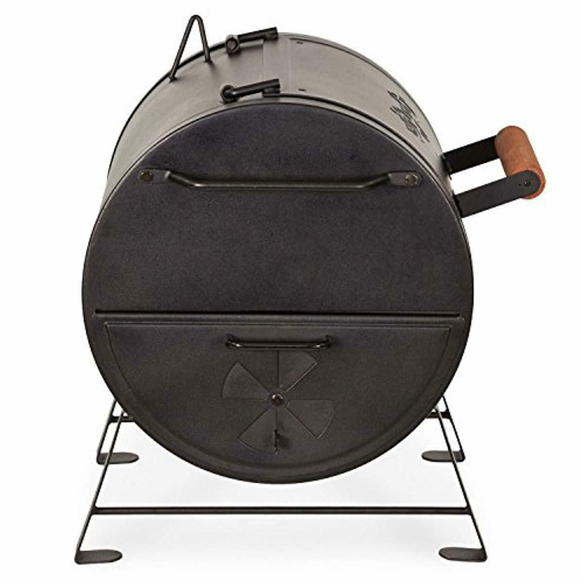 Char-Griller Table Top Charcoal Fire Box, Black