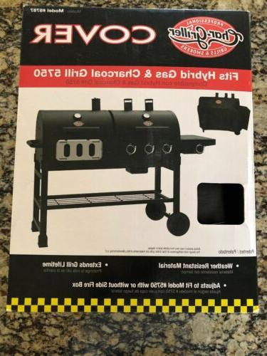 char griller hybrid gas and charcoal grill