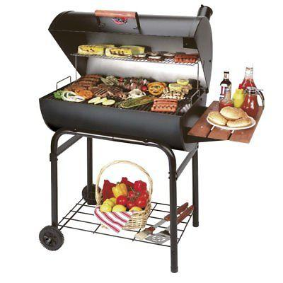 char griller pro deluxe charcoal grill