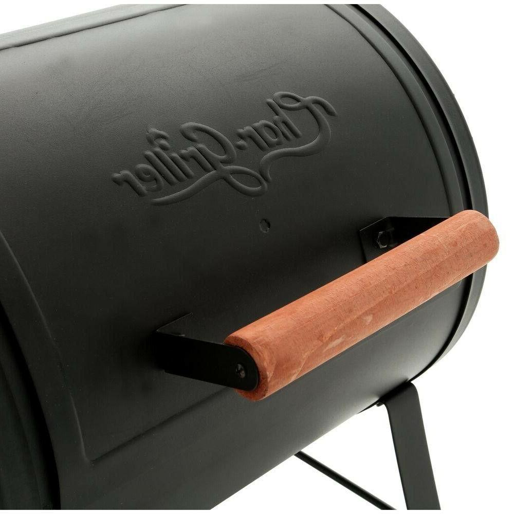 Char-Griller Side Fire Portable Charcoal Grill Lightweight