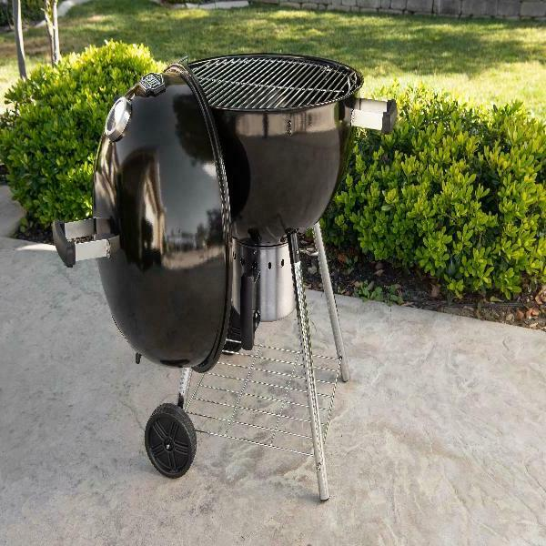 "Expert Grill 22"" Superior Kettle Charcoal Grill BBQ Barbecue"