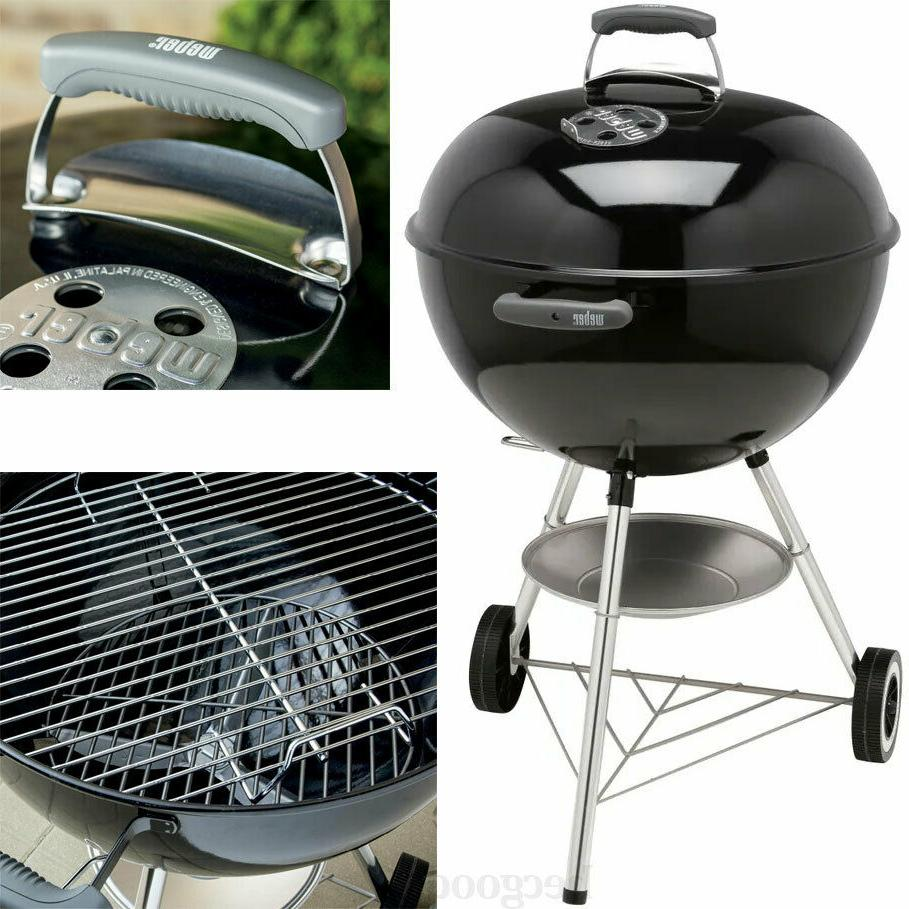 Charcoal Jumbo Kettle Grill Black