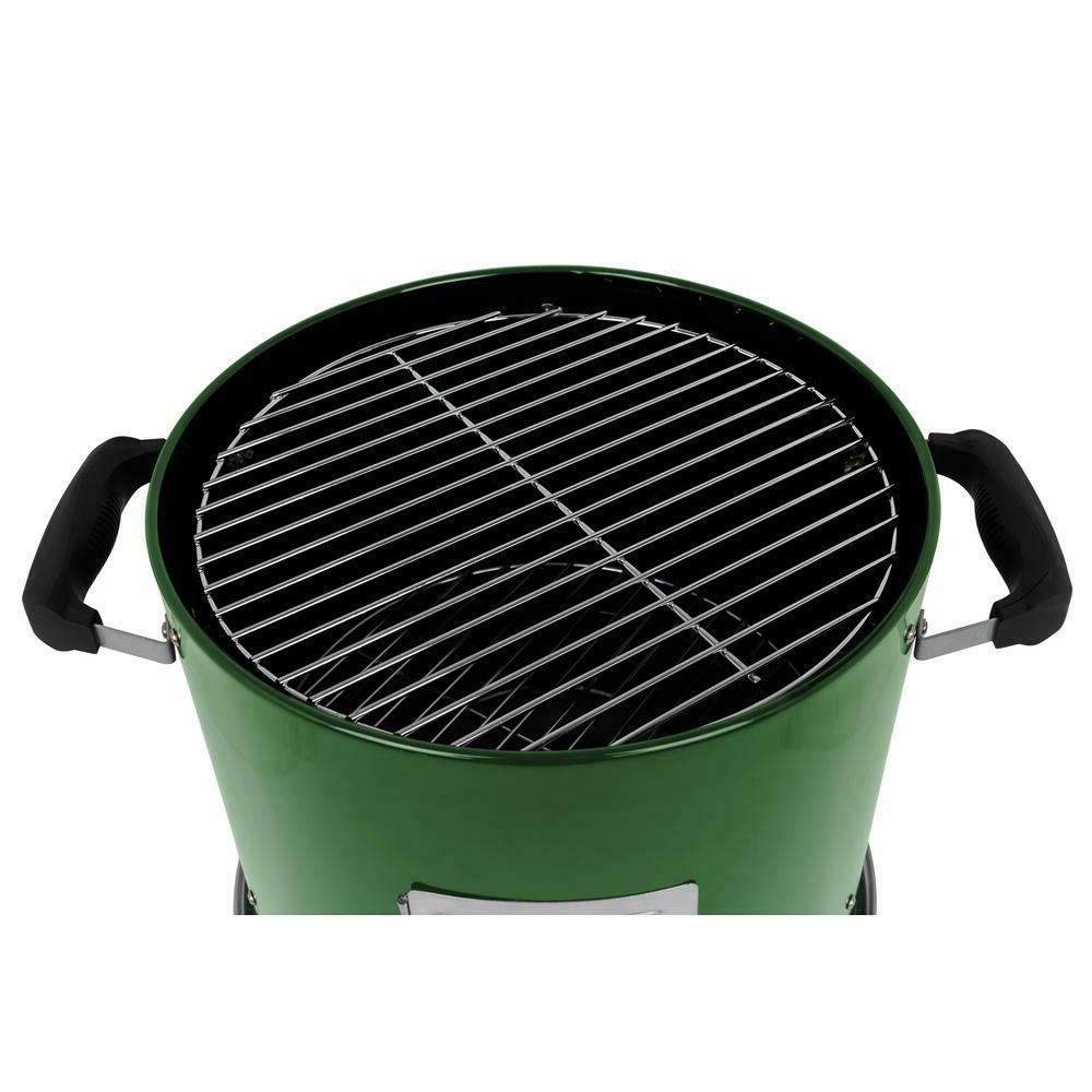 Charcoal Bullet Smoker Portable Meat