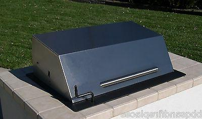 """EasyChef Charcoal Counter Top BBQ Grill 30"""" -w/ Black Hood"""
