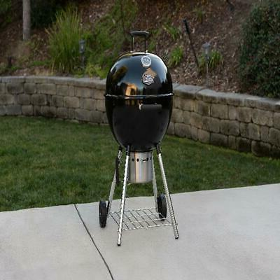 charcoal grill 22 in kettle backyard outdoor
