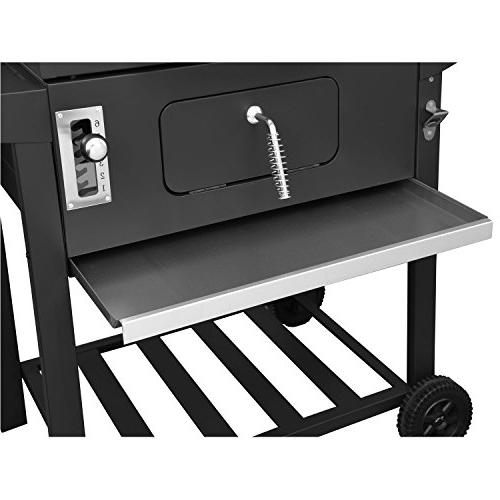 Royal Gourmet Charcoal Grill,BBQ Camping, Patio Backyard Cooking,Black
