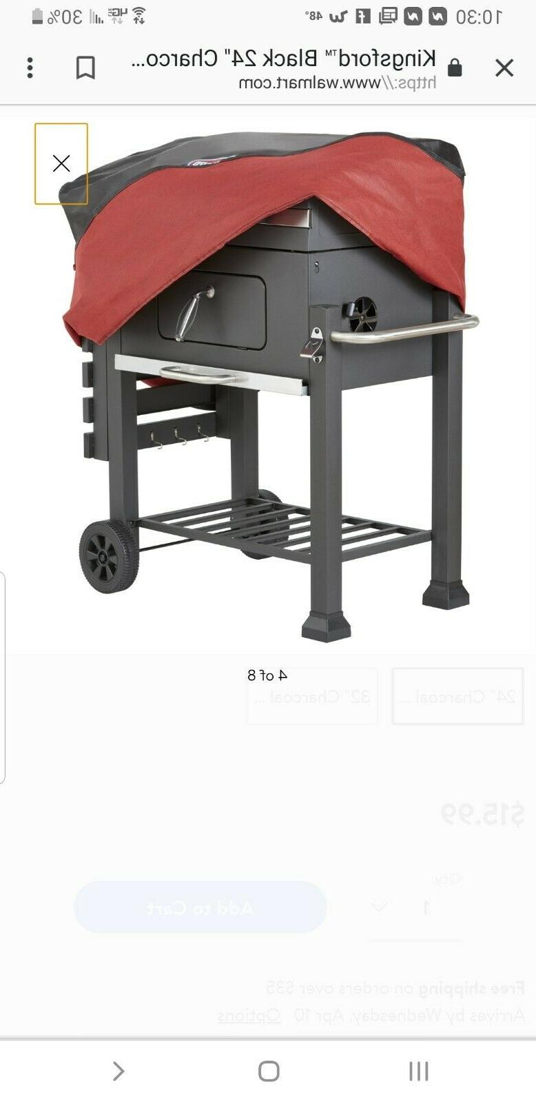 Kingsford charcoal cover