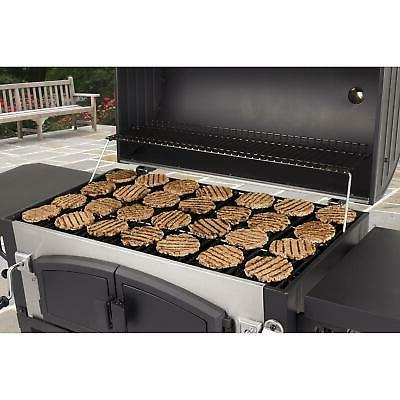 Charcoal Grill Dual Barbecue Cooker Picnic