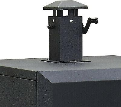 Charcoal Grill sq Offset Backyard BBQ Cooking Dyna-Glo