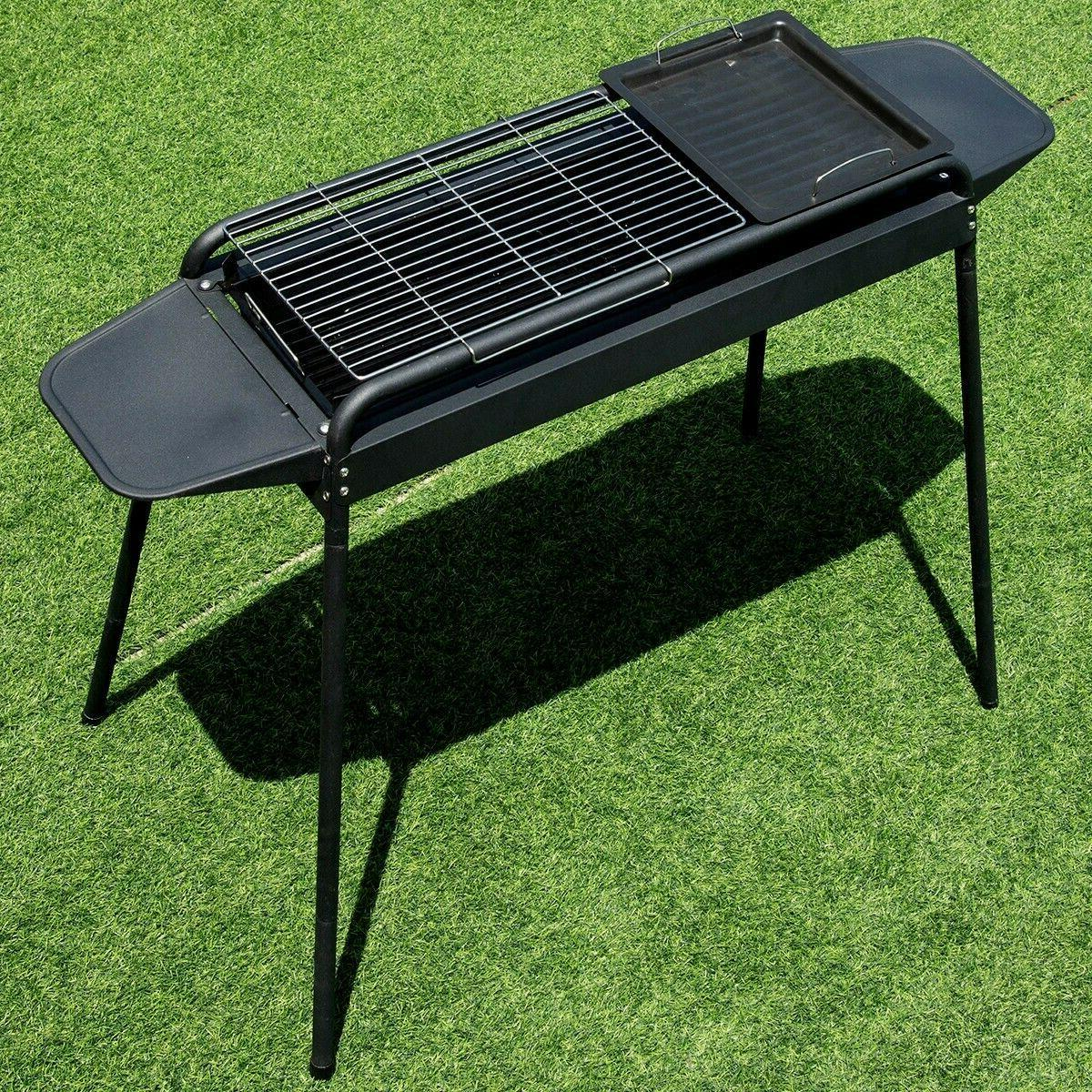 Charcoal Stove BBQ Barbecue Adjustable