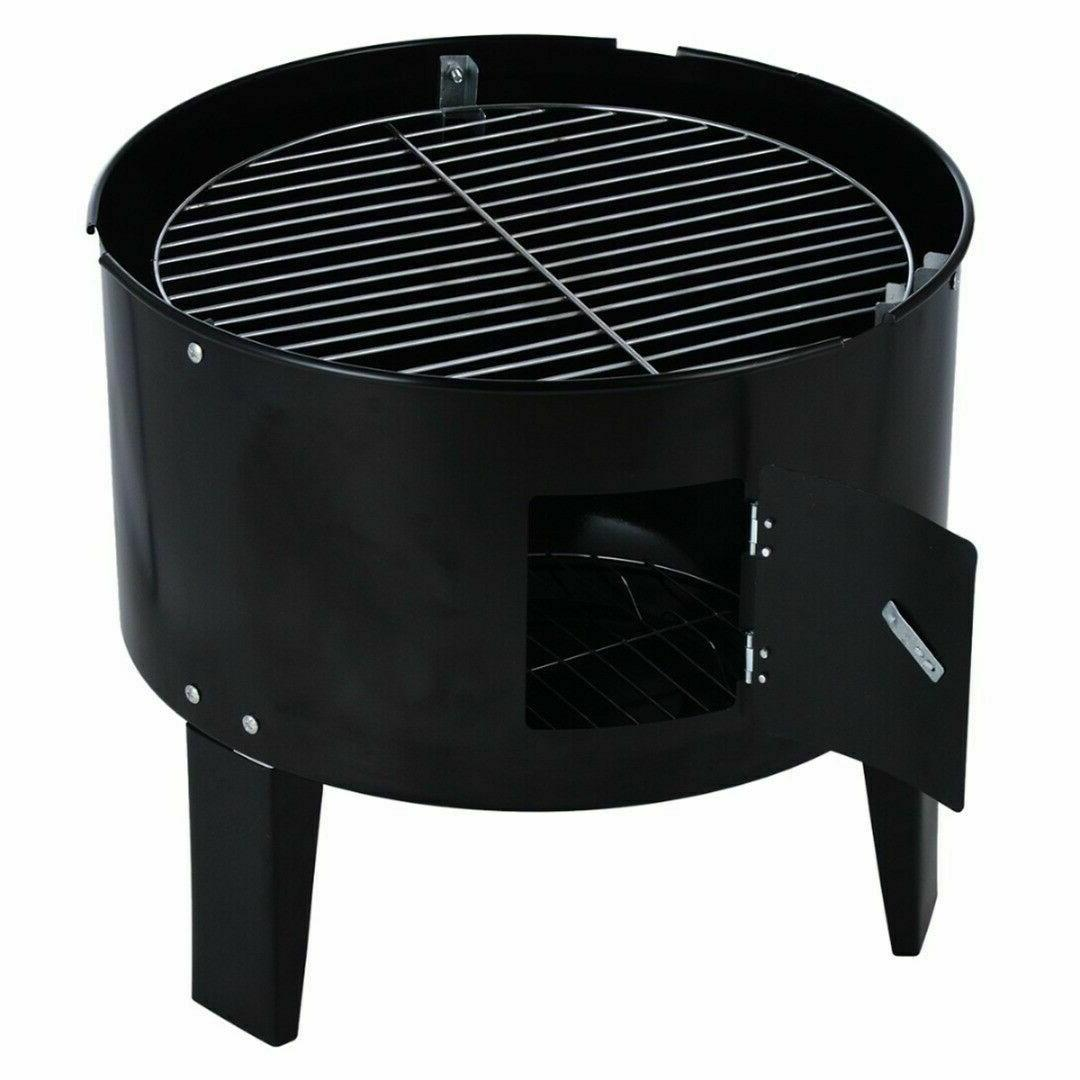 Charcoal Outdoor Barbecue Backyard Camping Patio