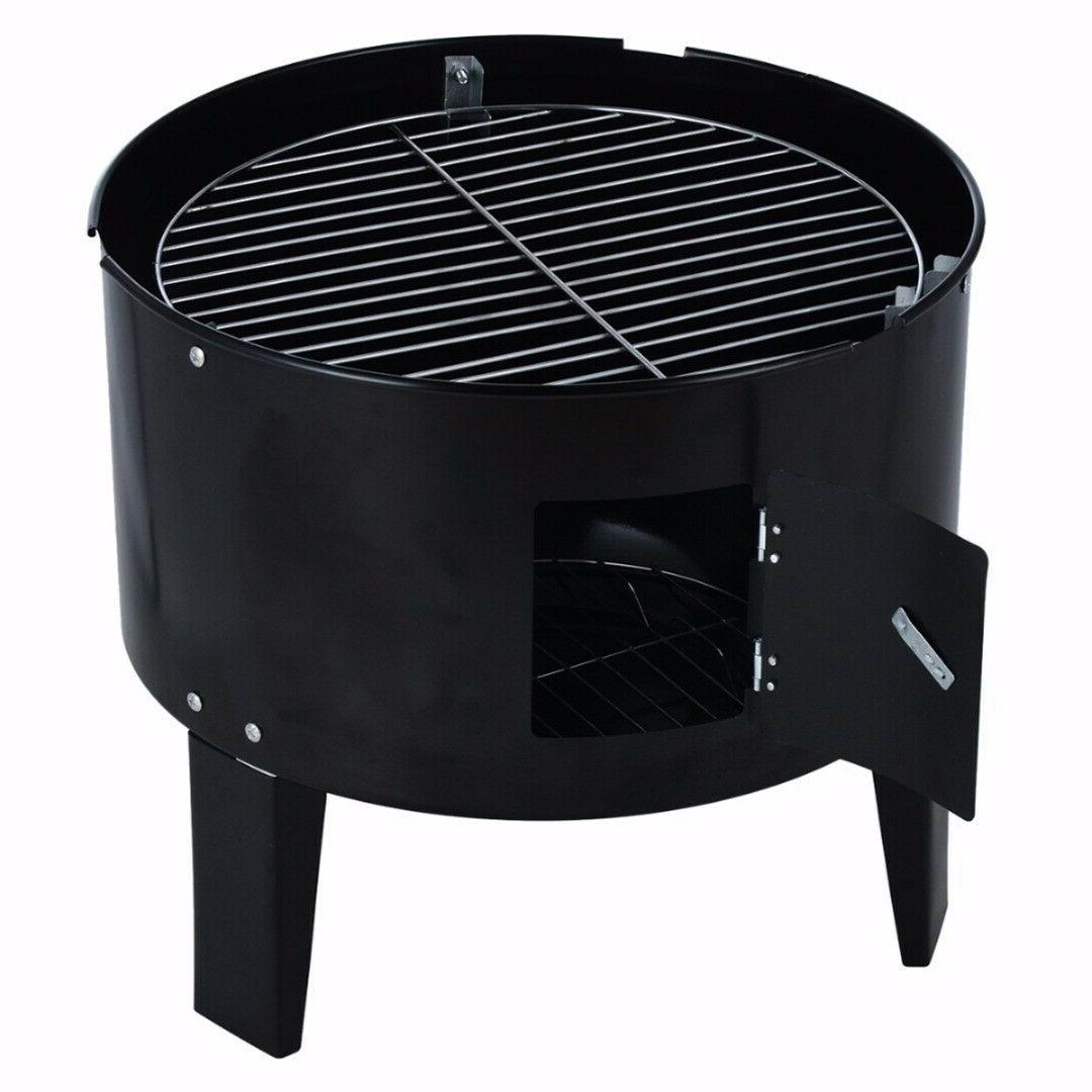 BBQ Grill Charcoal Outdoor Pit Home Cooker LOT