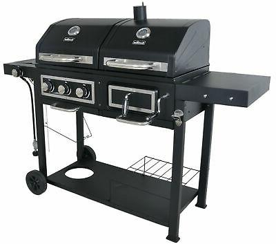 Combination Charcoal Grill BBQ Outdoor