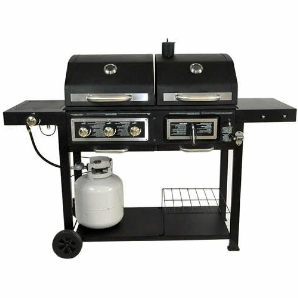 Charcoal BBQ Barbecue w/ Burner
