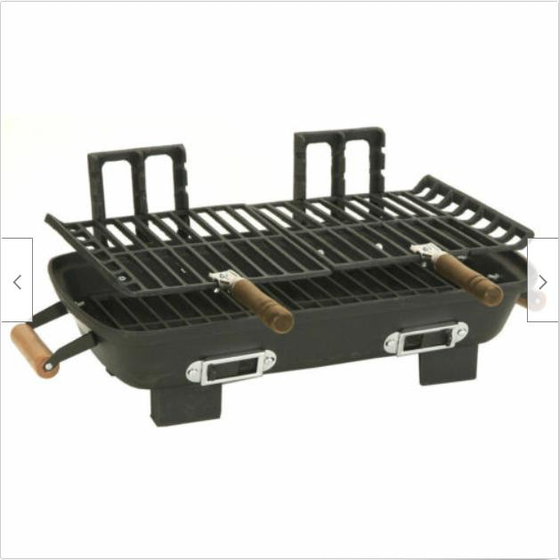 New Iron Charcoal Cooking Light Portable Charcoal BBQ