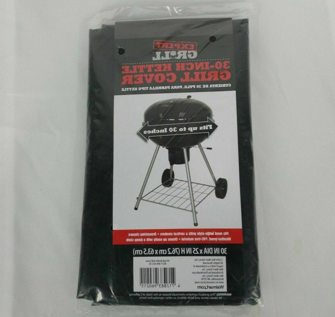 Expert Grill Cover Kettle Smoker All Weather PVC Strong Outd