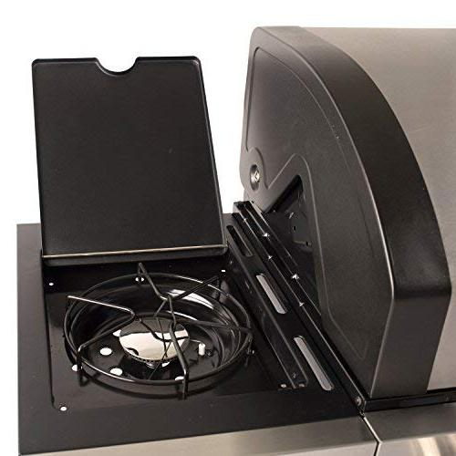 Dyna-Glo DGB495SDP-D 4 Burner Open Gas Grill