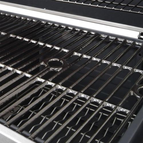 Dyna-Glo Premium Charcoal Grill, Stainless