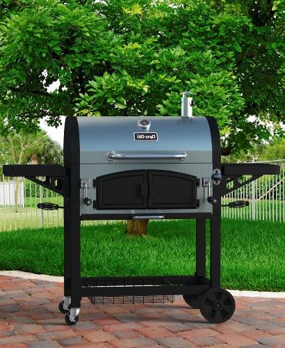 Premium Charcoal Grill, Stainless
