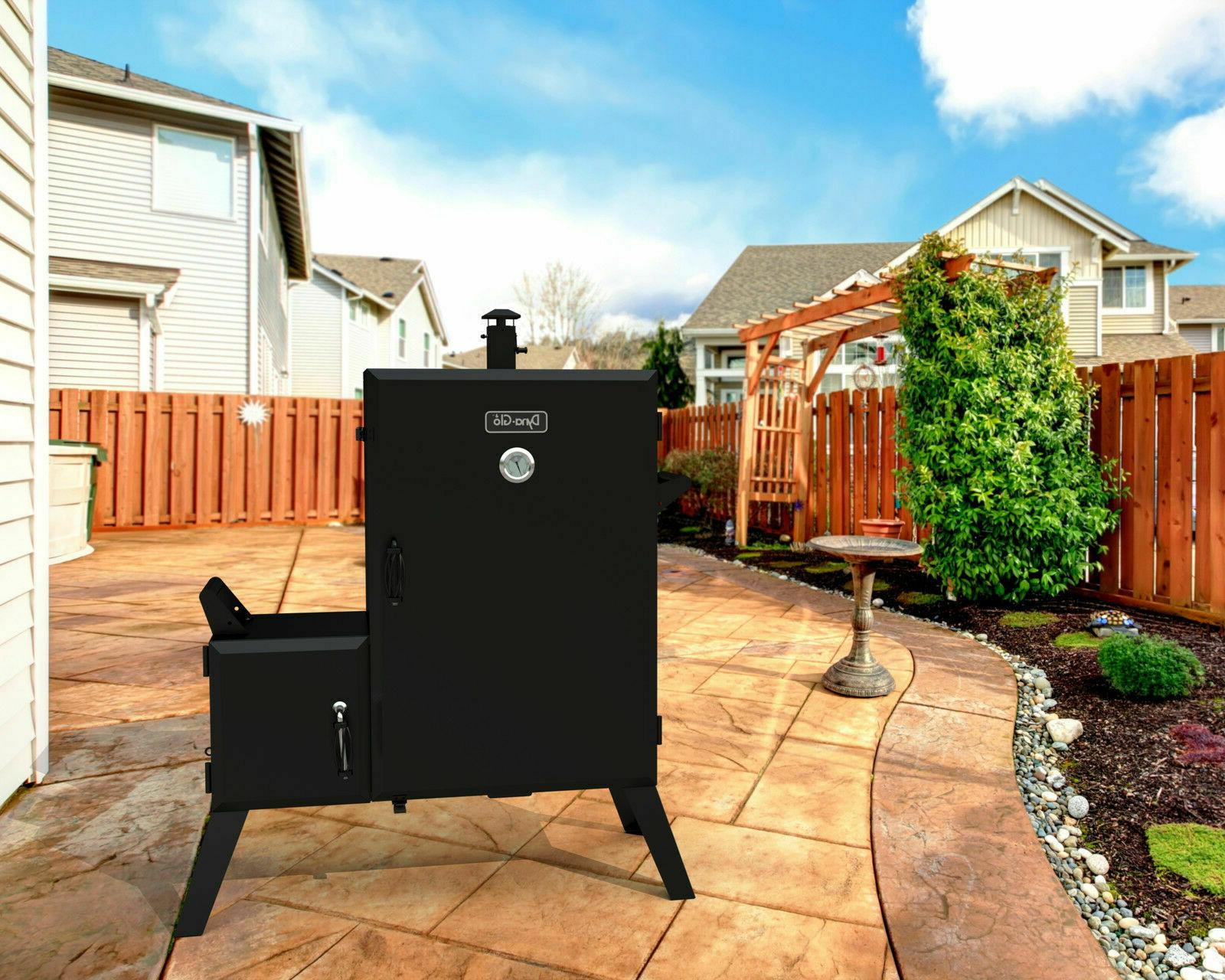 Dyna-Glo 36 in. Vertical Charcoal Wide Outdoor Cooking