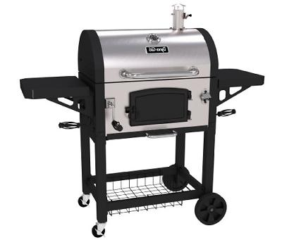 Dyna-Glo DGN486SNC-D Heavy Duty Stainless Charcoal Grill, La