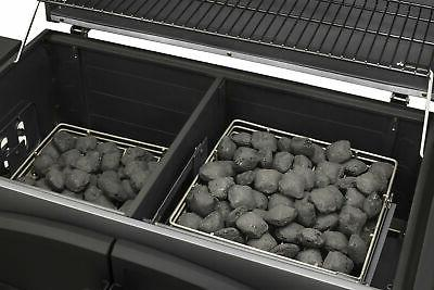 Dyna-Glo DGN576SNC-D Charcoal Grill Stainless Steel