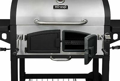 Dyna-Glo DGN576SNC-D Dual Charcoal BBQ Stainless