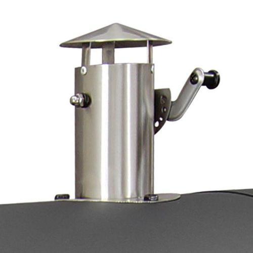 Dyna-Glo Heavy-Duty Premium Charcoal Grill in sliding