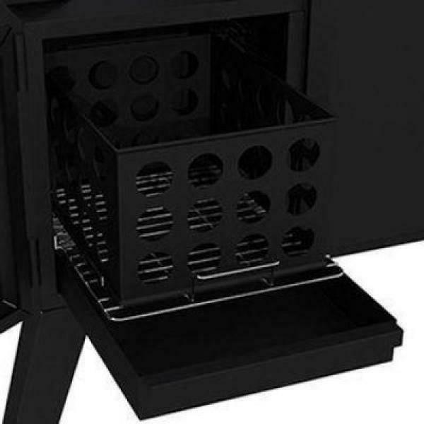 Dyna-Glo Off-Set Smoker 36 in. Heavy-Duty Black
