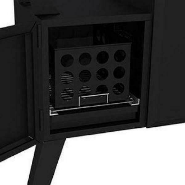 Dyna-Glo Vertical Off-Set Smoker 36 in. Heavy-Duty Black