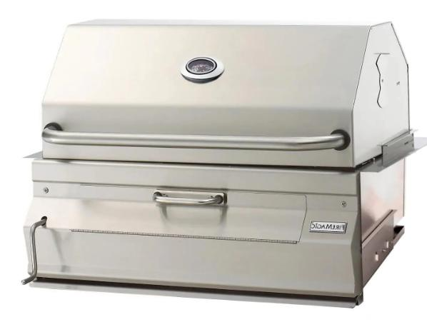 fire magic built in stainless steel charcoal