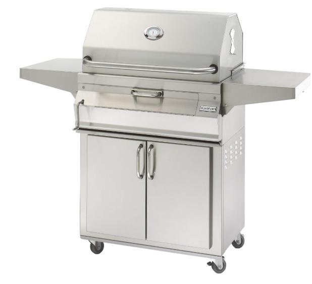 fire magic portable stainless steel charcoal grill