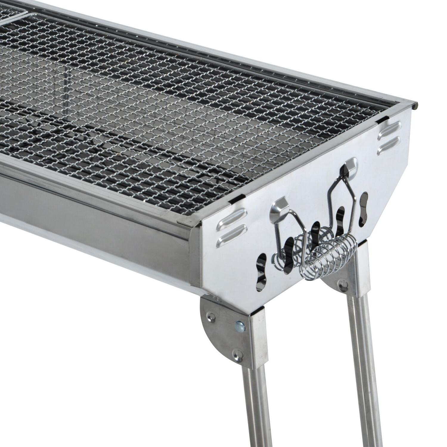 "29"" Fordable BBQ Grill Backyard Cooker Party"