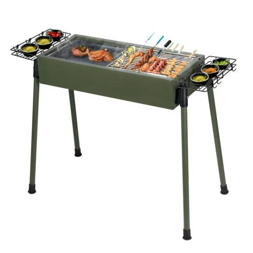 Foldable Stove Patio Shish Kabob Cooker