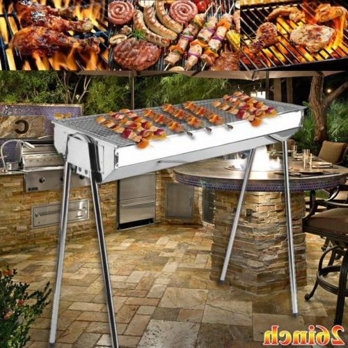 26-Inch Backyard Outdoor Cooking Charcoal Grill Barbecue Sta