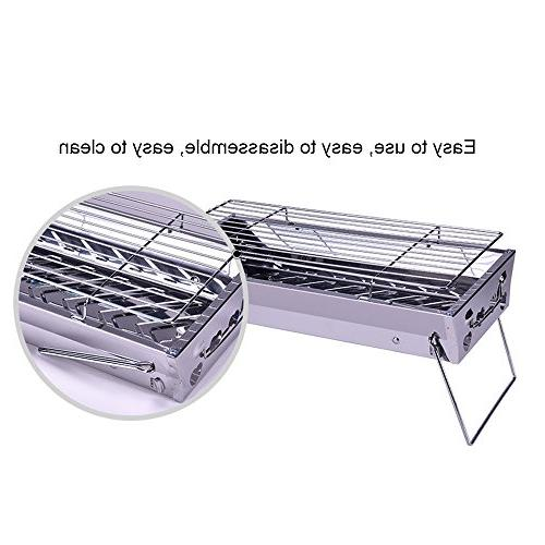 ADSRO Folding Grill, Kit Outdoor Cooking Hiking Picnic or Activities