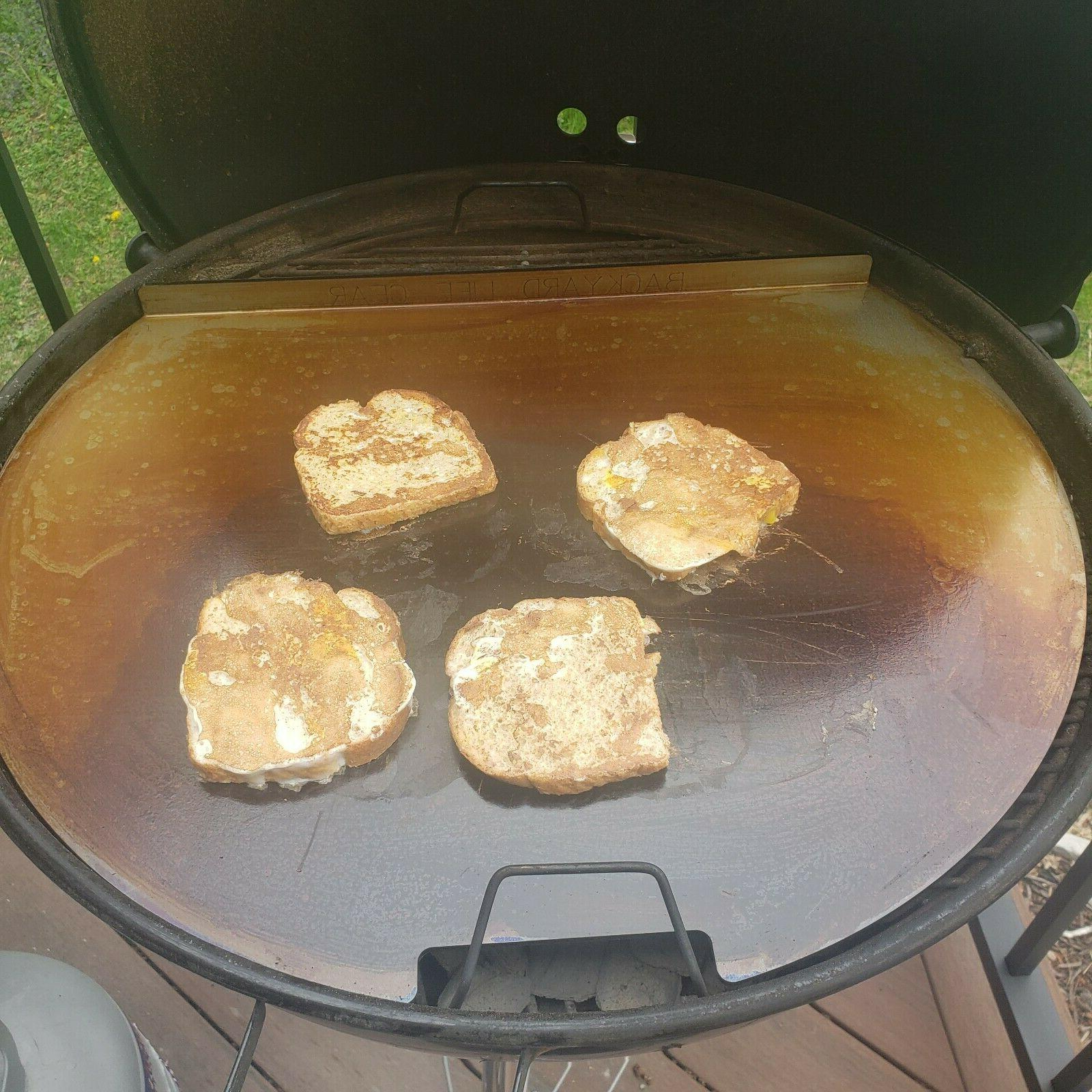 griddle plate for weber kettle charcoal grill