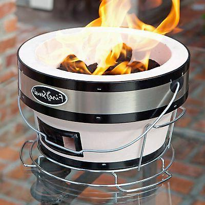 Fire Charcoal Grill Tan