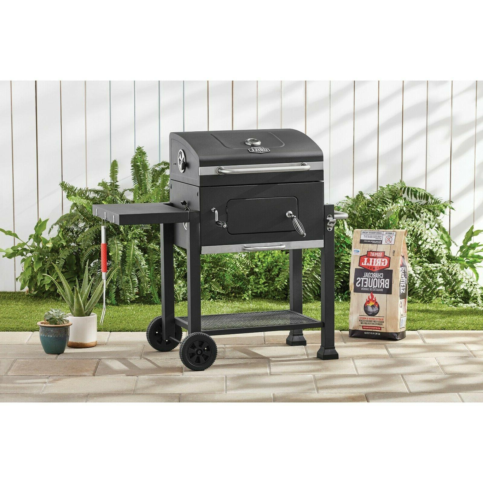 Expert Grill Heavy Duty 24-Inch Charcoal Outdoor BBQ Barbecu