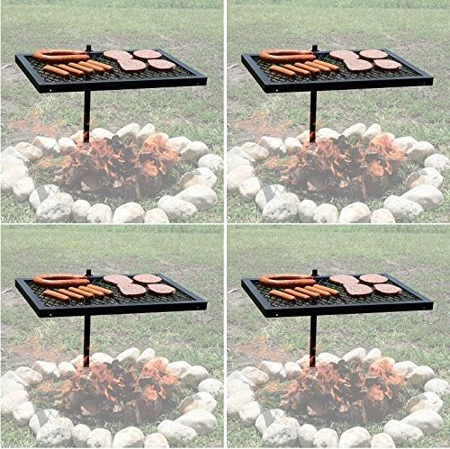 heavy duty barbecue swivel grill