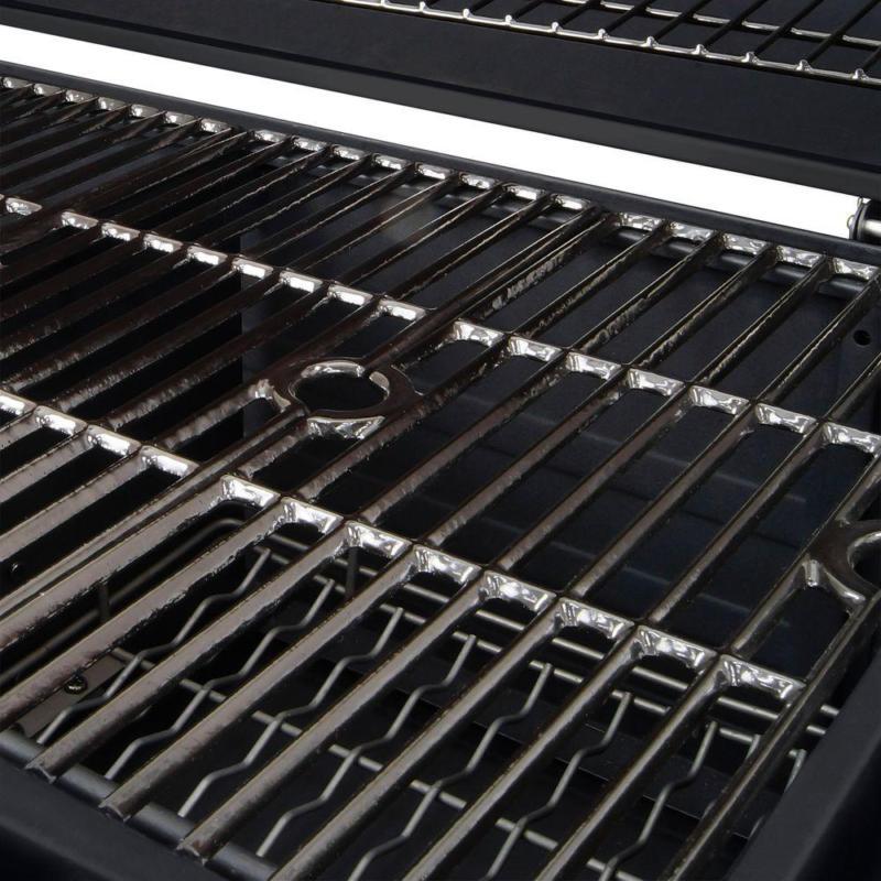 Heavy-Duty Charcoal Cast X-Large Patio BBQ