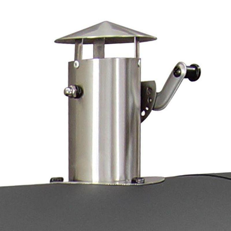 Heavy-Duty Charcoal Cast Patio BBQ Smoker