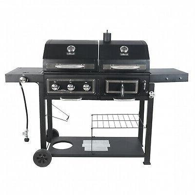 Dual Grill Combination Cooking Burner
